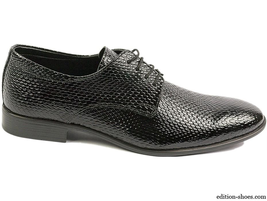 Мъжки обувки черни 4851