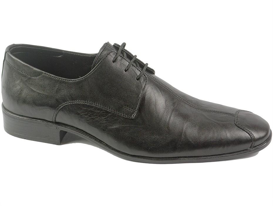 Мъжки обувки черни с вр 6686