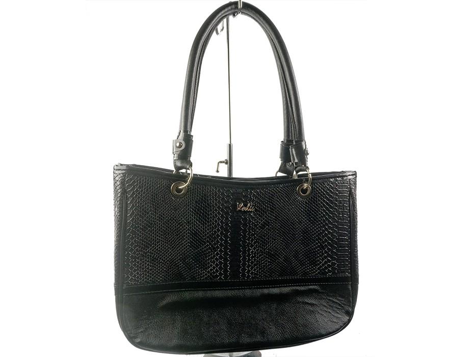 Дамска чанта черна 6816