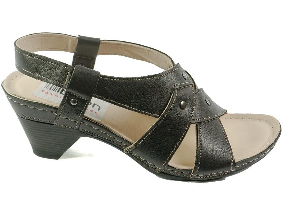 Дамски сандали черни 7022