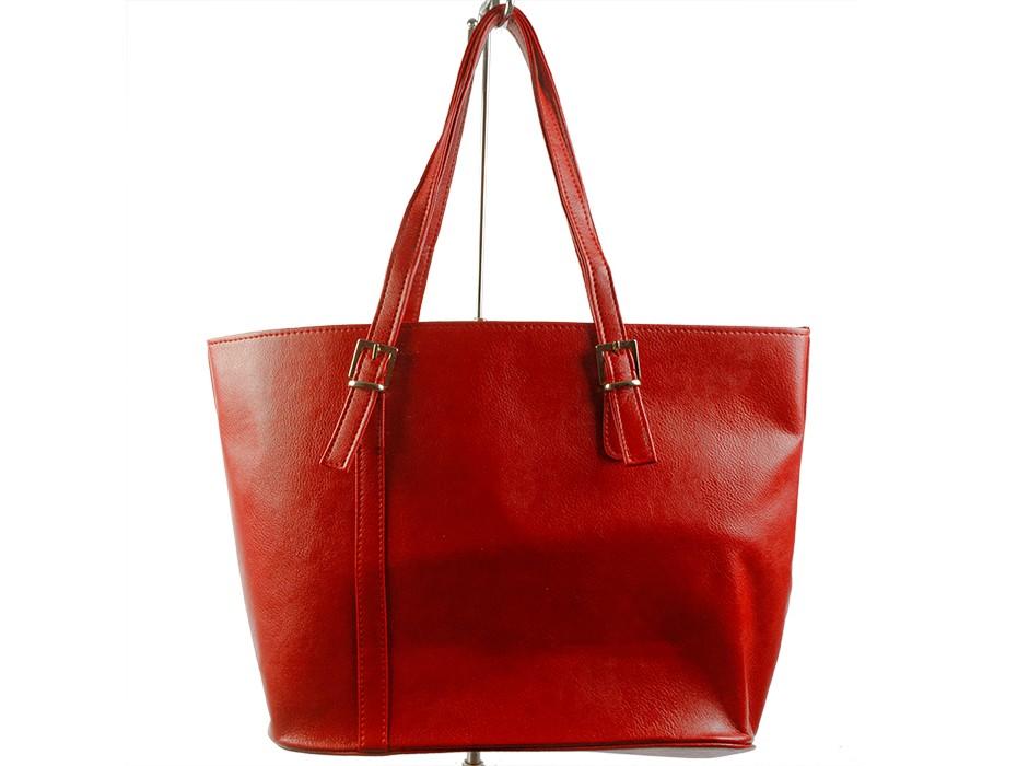 Дамска чанта червена 7147