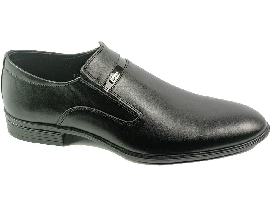 Мъжки обувки черни 7250