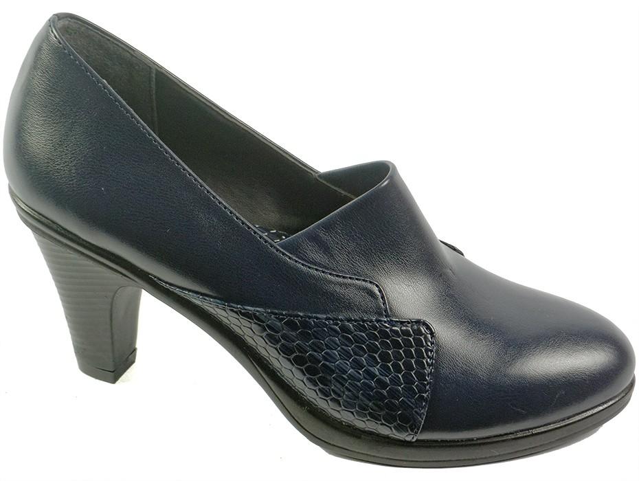 Дамски обувки сини 7323
