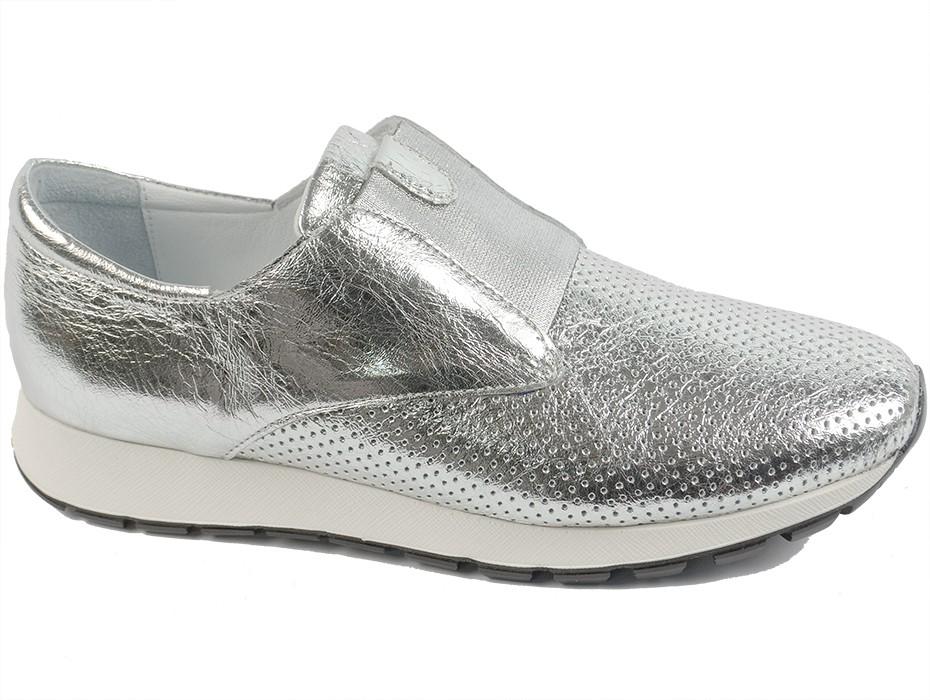 Дамски обувки сиви 7579