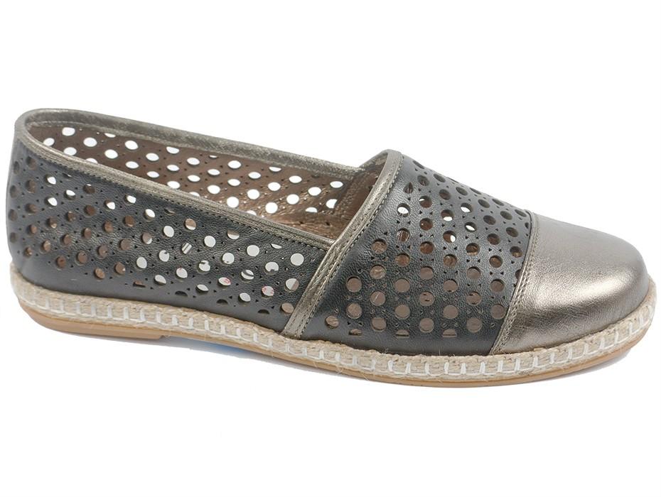 Дамски обувки сиви 7736