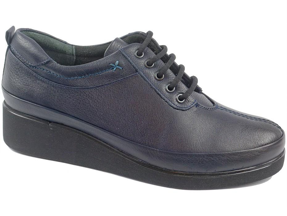 Дамски обувки сини 8398