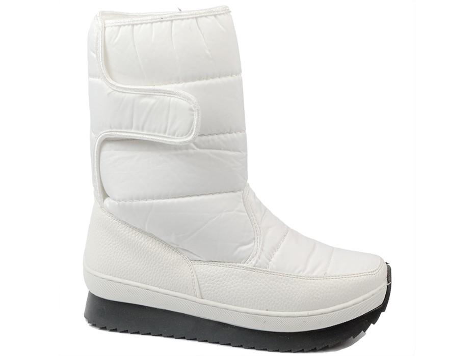 Дамски боти бели 8470