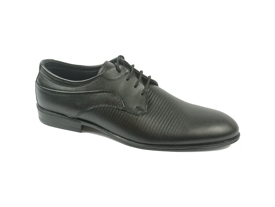 Мъжки обувки черни 8580