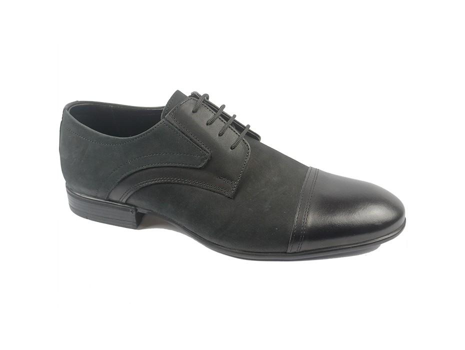 Мъжки обувки черни 8597