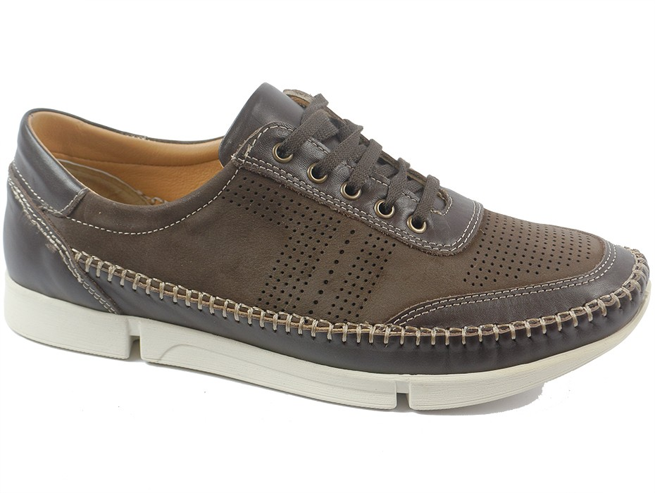 Мъжки обувки кафяви 8710
