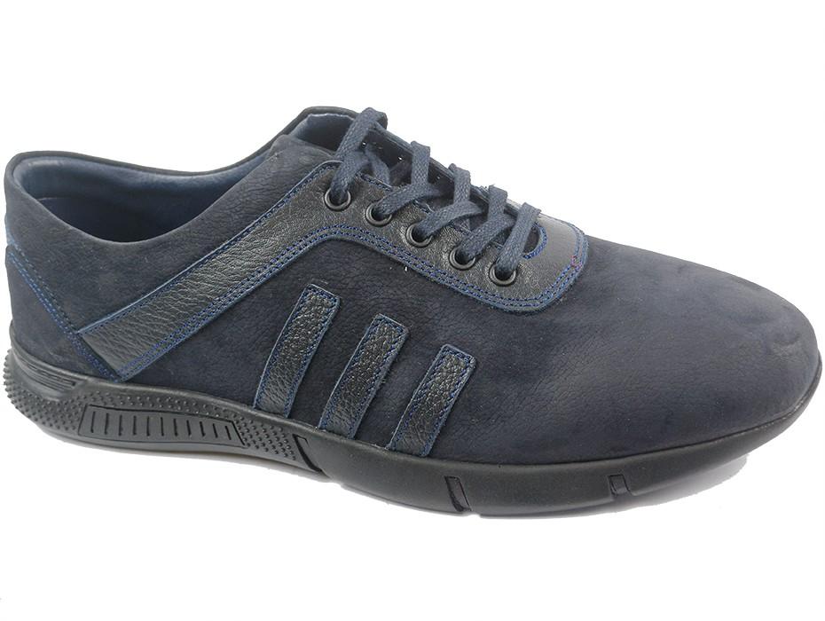Мъжки обувки сини 9072