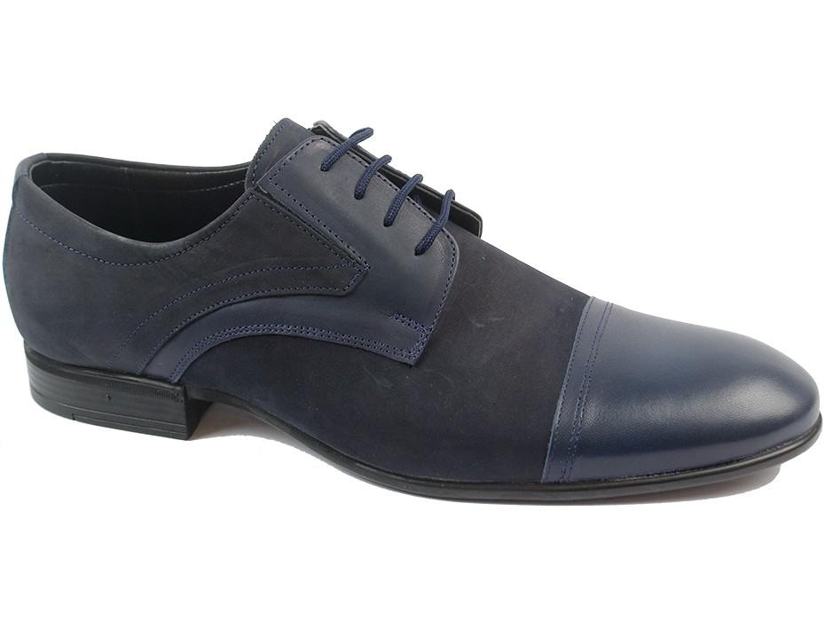 Мъжки обувки сини 8572