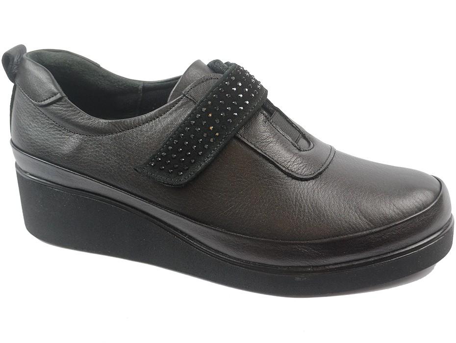 Дамски обувки черни 9119