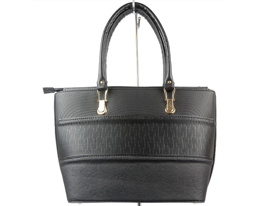 Дамска чанта черна 9186