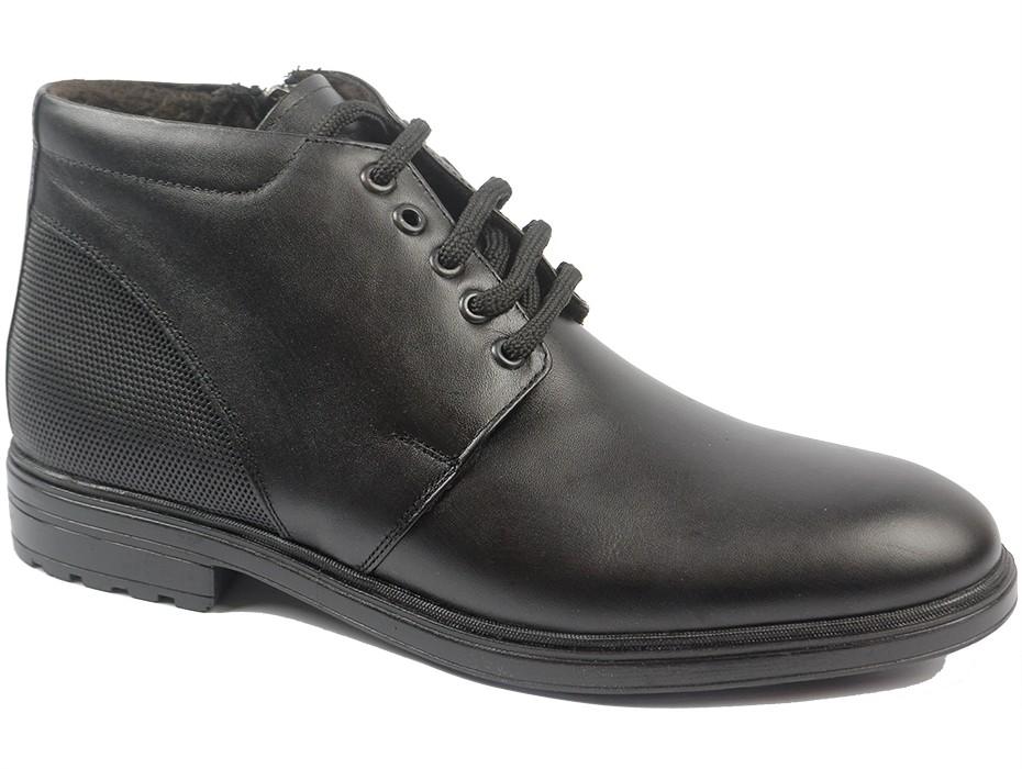 Мъжки боти черни 9308