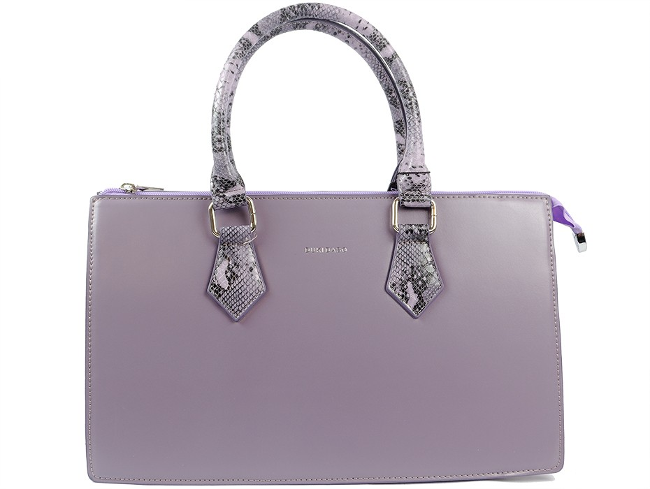 Дамска чанта лилава 9545