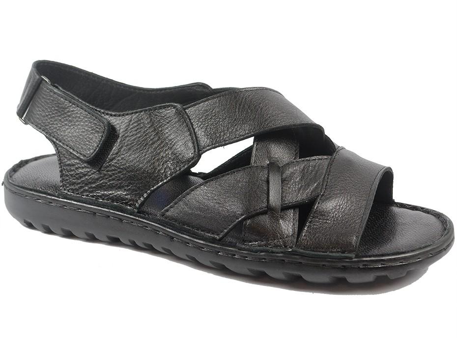 Мъжки сандали черни XXL 9701