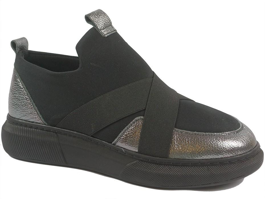 Дамски обувки черни 9823