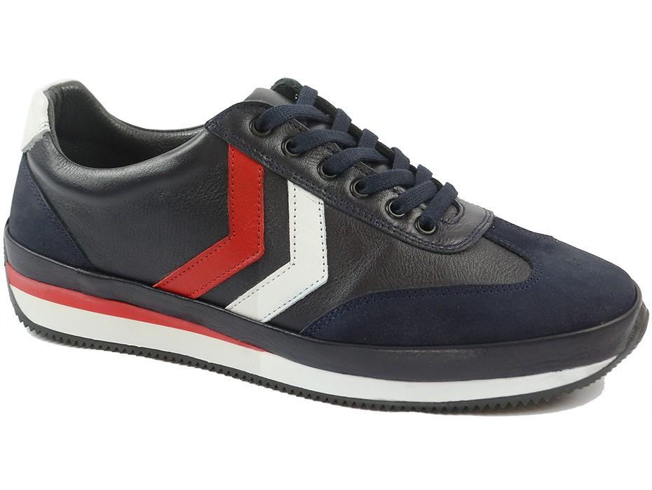 Мъжки обувки сини 9825