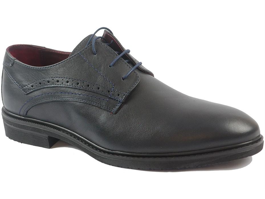 Мъжки обувки сини 9828