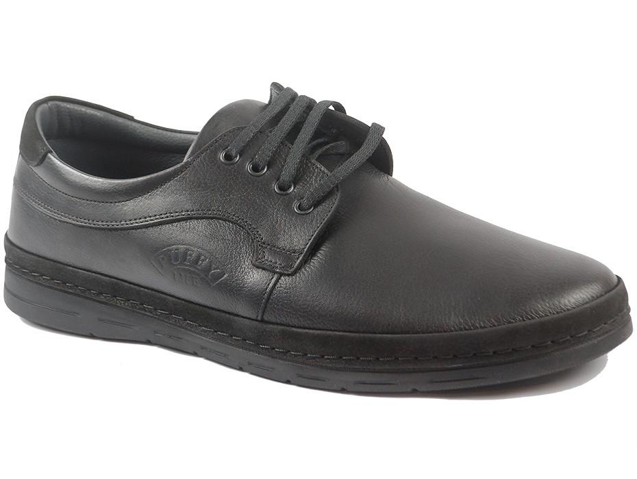 Мъжки обувки черни 9850