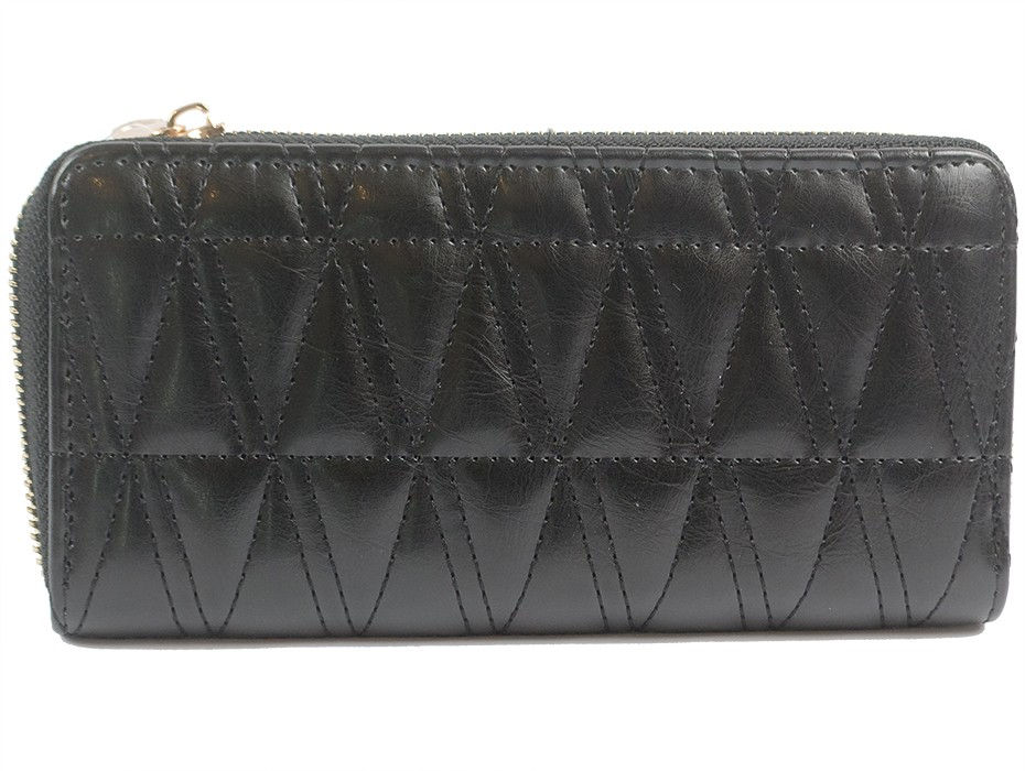 Дамско портмоне черно 9864