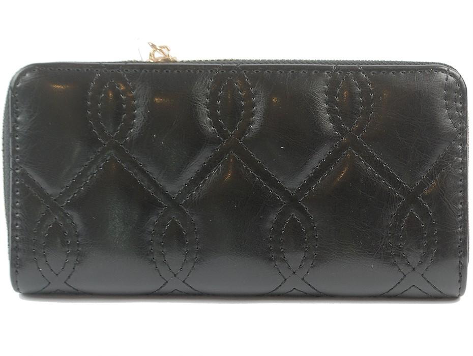 Дамско портмоне черно 9865