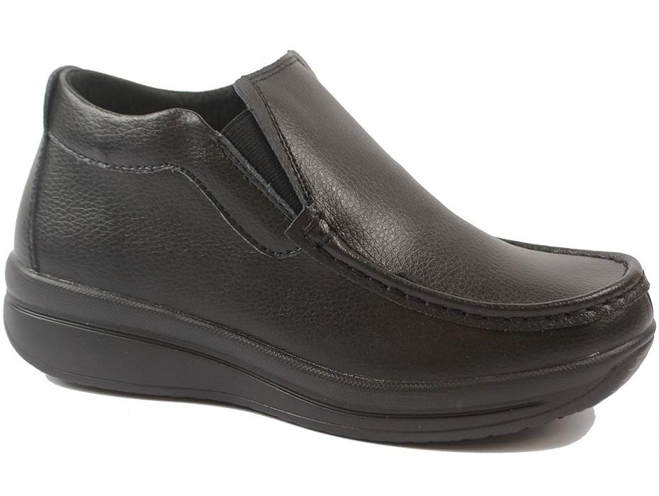 Дамски боти черни 9914