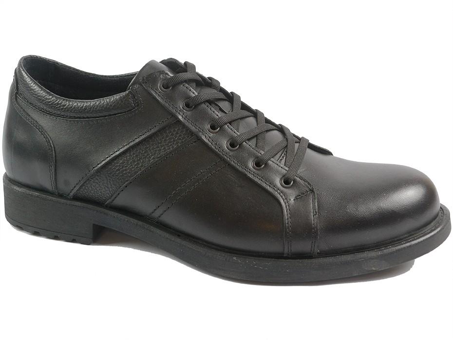 Мъжки обувки черни XXL 9936
