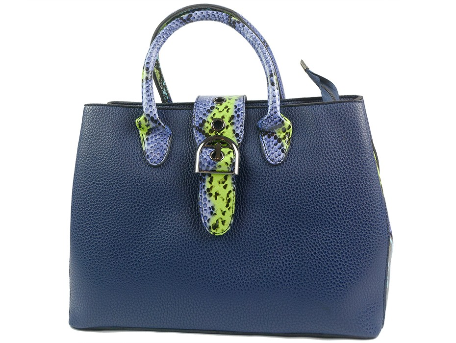 Дамска чанта синя 9885