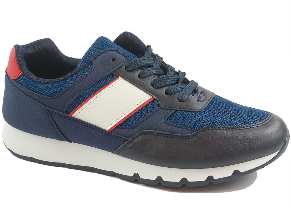 Мъжки обувки сини 10027