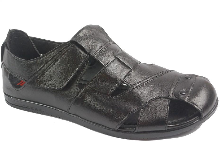 Мъжки сандали черни 10123