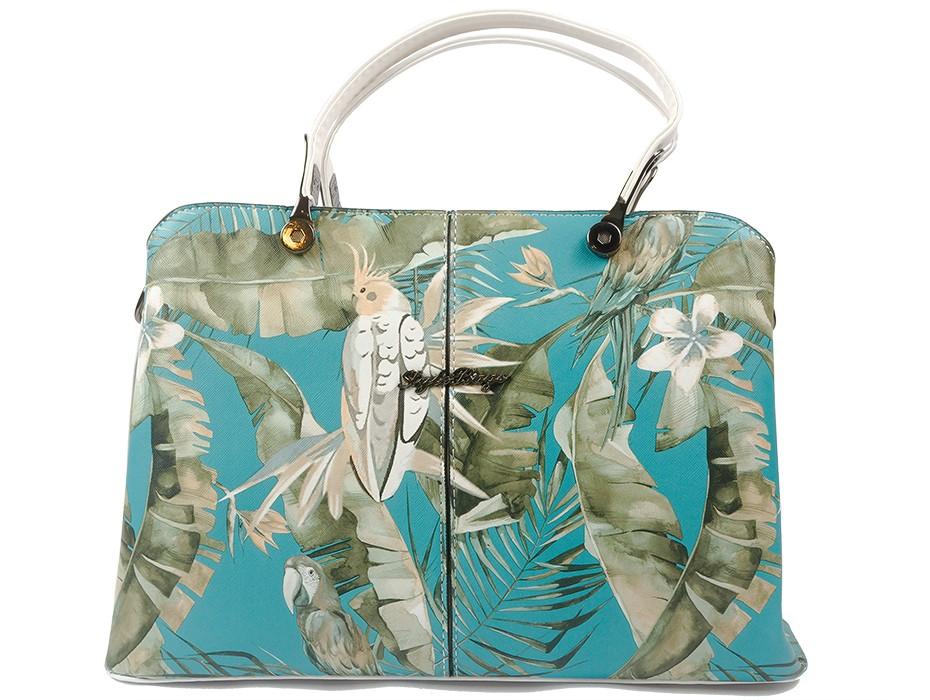 Дамска чанта шарена 10186