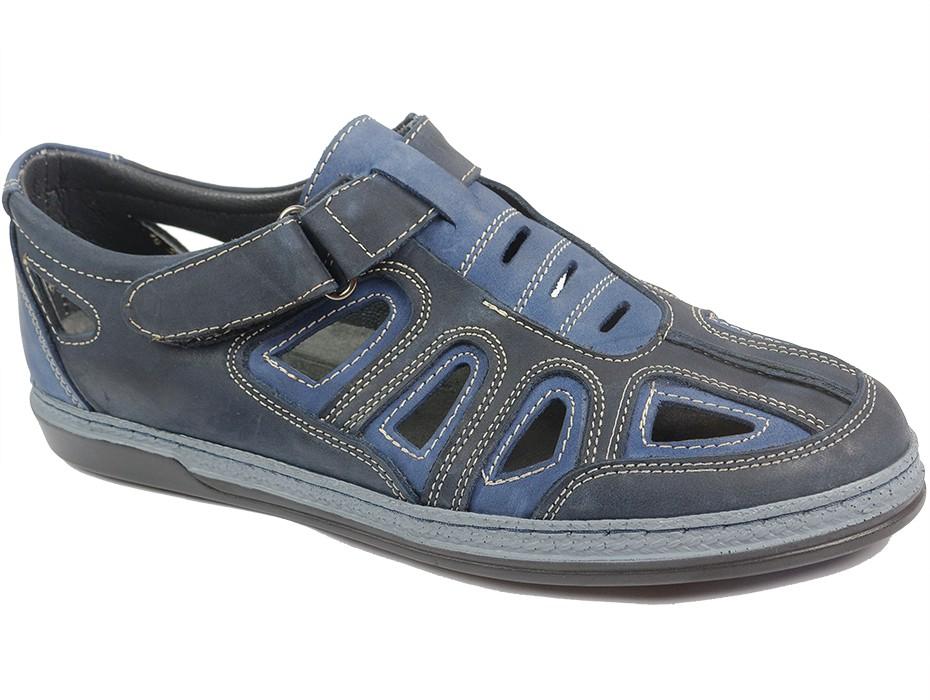 Мъжки обувки сини 10194
