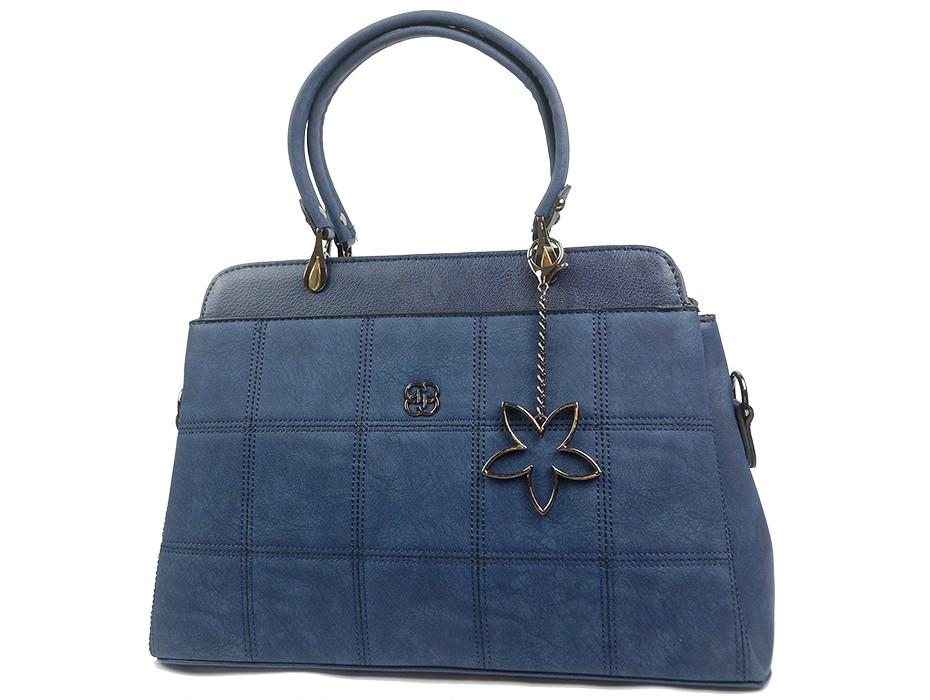 Дамска чанта синя 10262
