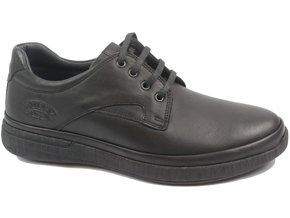 Мъжки обувки черни 10302