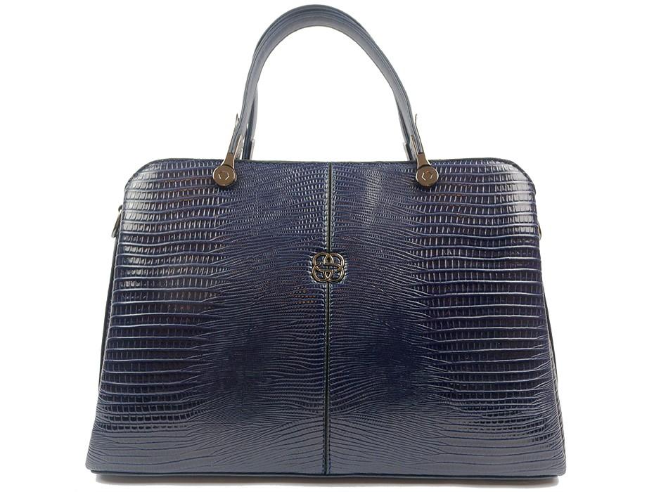 Дамска чанта синя 10431