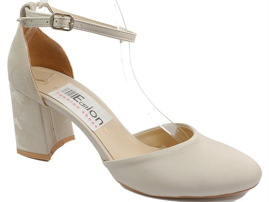 Дамски обувки бежови 10469