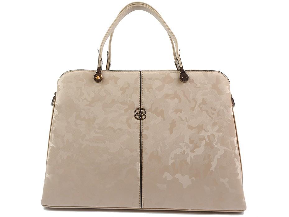 Дамска чанта бежова 10556