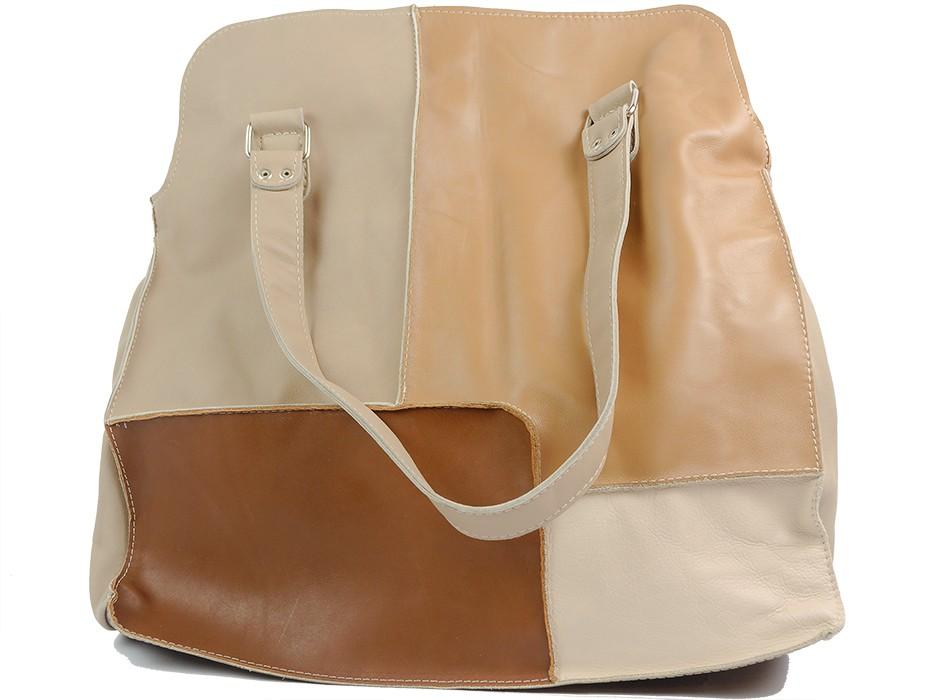 Дамска чанта бежова 10808