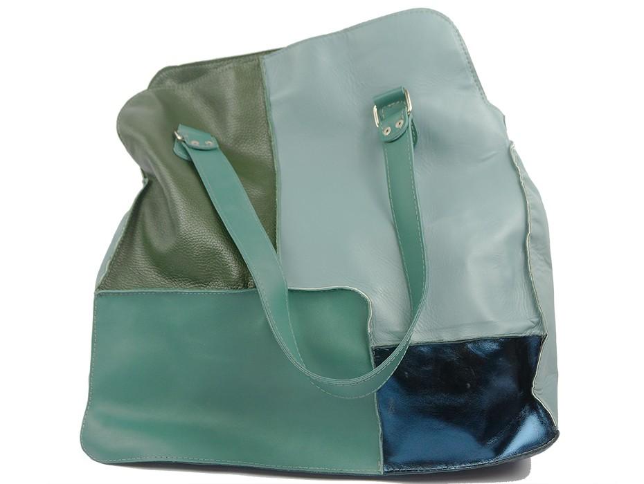 Дамска чанта зелена 10809