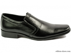Мъжки обувки черни без връзки 4111