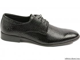 обувки-Мъжки обувки черни 4851