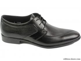 obuvki-Мъжки обувки черни с ръб 5456