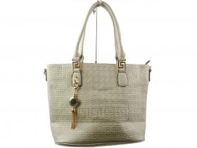обувки-Дамска чанта сива 6306