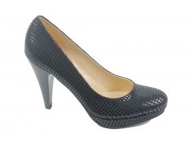 Дамски обувки сини 6495 - obuvki