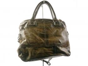 Дамска чанта таупе 6615 - obuvki