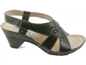 obuvki-Дамски сандали черни 7022