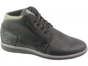 обувки-Мъжки боти черни 7379