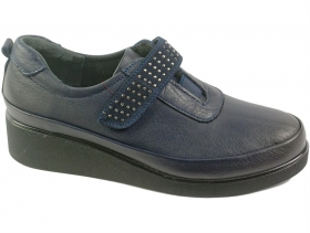 Дамски обувки сини 7460 - obuvki